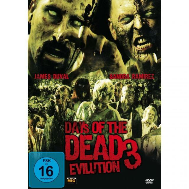 Days of the Dead 3 - Evilution - DVD - NEU / OVP - Zombie Horror Movie