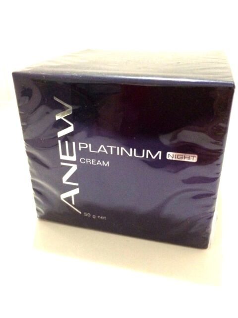Avon Anew Platinum NIGHT Cream 50g for women age 60 + *New & Sealed*