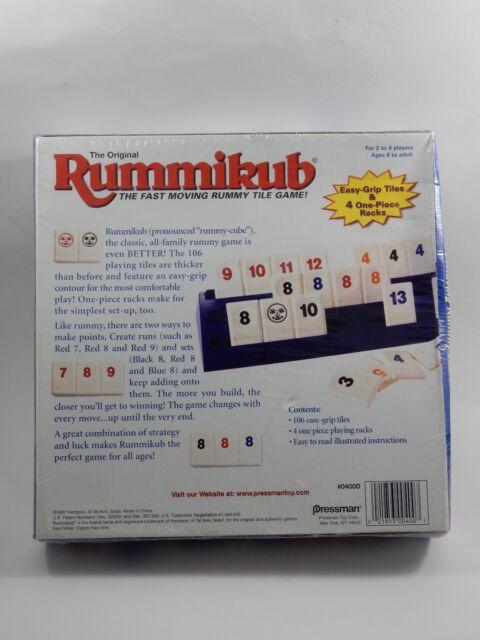Pressman Toy Corpora The Original Rummikub Fast Moving Rummy Tile