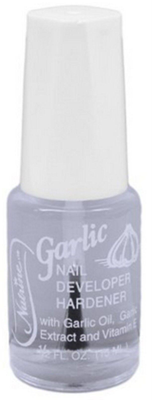 Nutrine Garlic Nail Developer Hardener 0.5 Ounce | eBay
