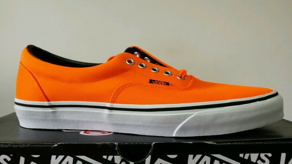 VANS ERA AUTHENTIC CLASSIC ARANCIO FLUO N.44 MITICHE SNEKERS OKKSPORT NIKE 97