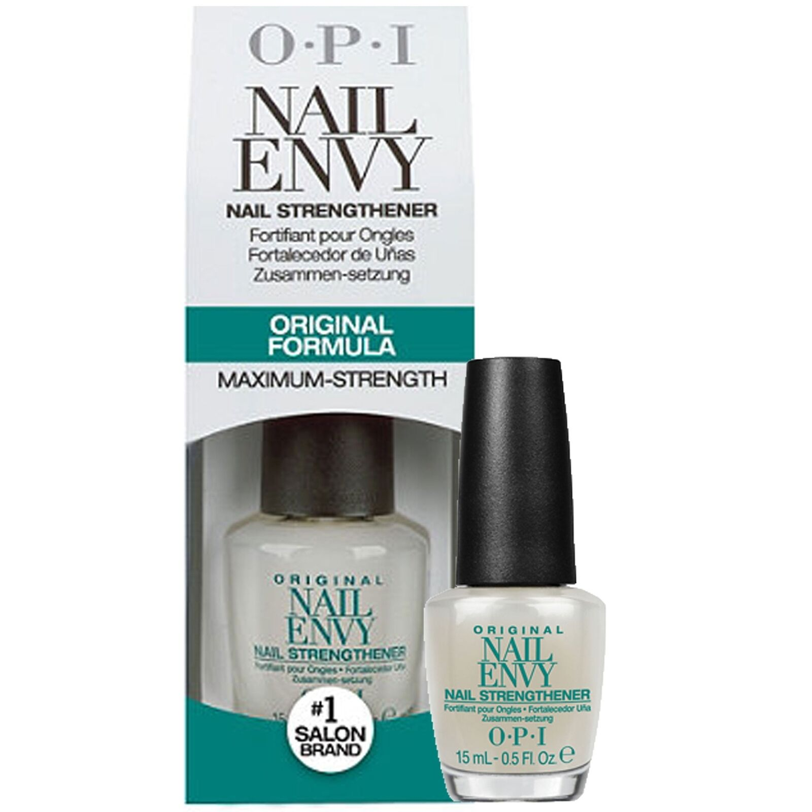 OPI Nail Treatment Strengthener Hardener Envy Original 15ml 0.5 FL ...