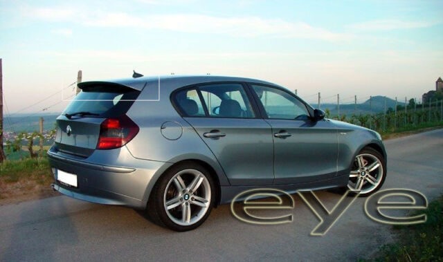 bmw 1 e81 e87 rear roof spoiler ebay. Black Bedroom Furniture Sets. Home Design Ideas