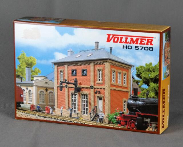 VOLLMER 5708/45708 [Spur H0, Bausatz] - Wasserhaus - NEUWARE!