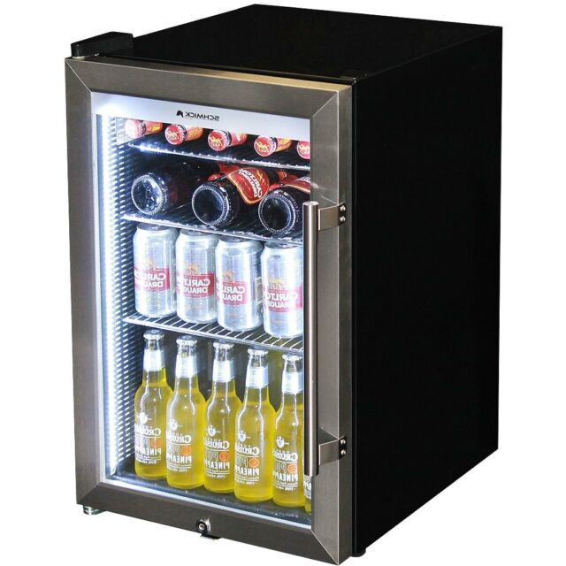 Schmick Alfresco Glass Door Bar Fridge Tropical Triple Glazed 70
