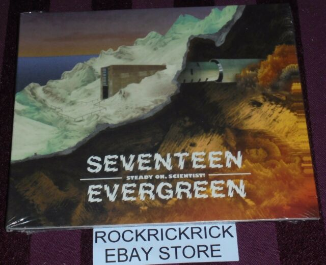 SEVENTEEN EVERGREEN - STEADY ON, SCIENTIST! -8 TRACK CD- (BRAND NEW SEALED CD)
