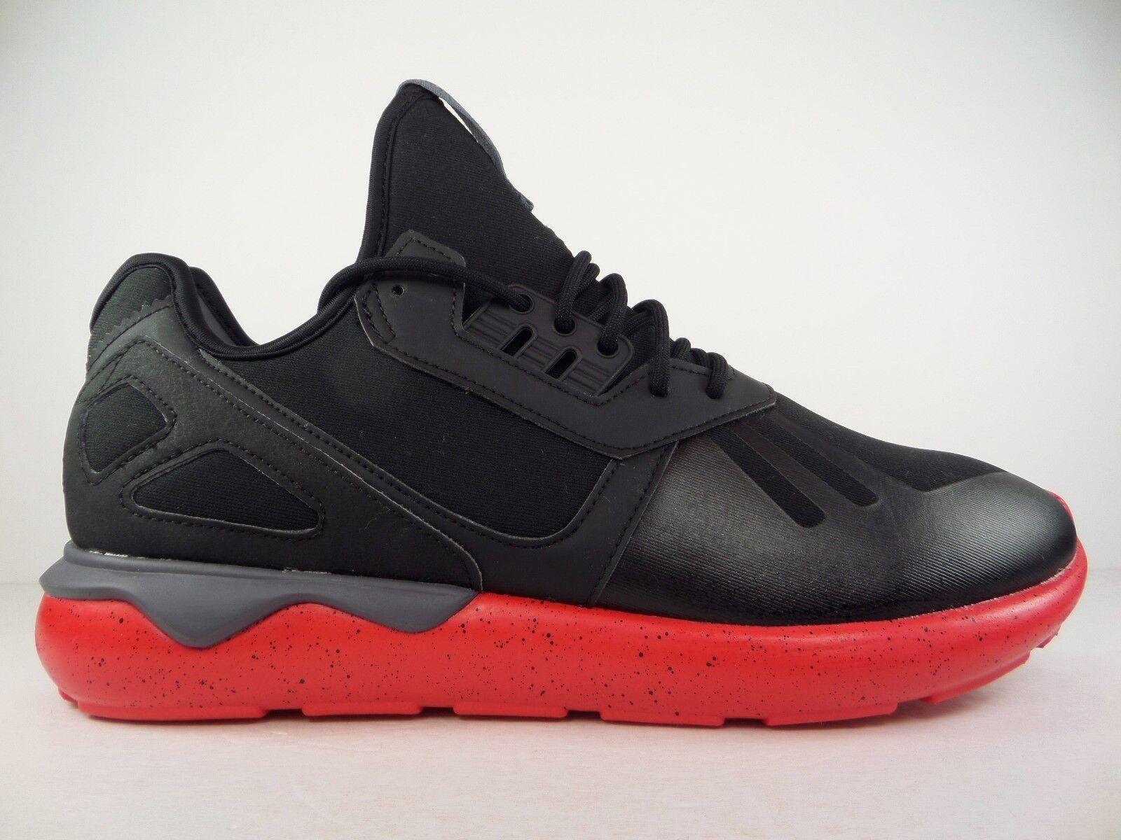 New Mens adidas Originals Tubular Runner Shoes 11.5 Black Tomato Onix AQ8387