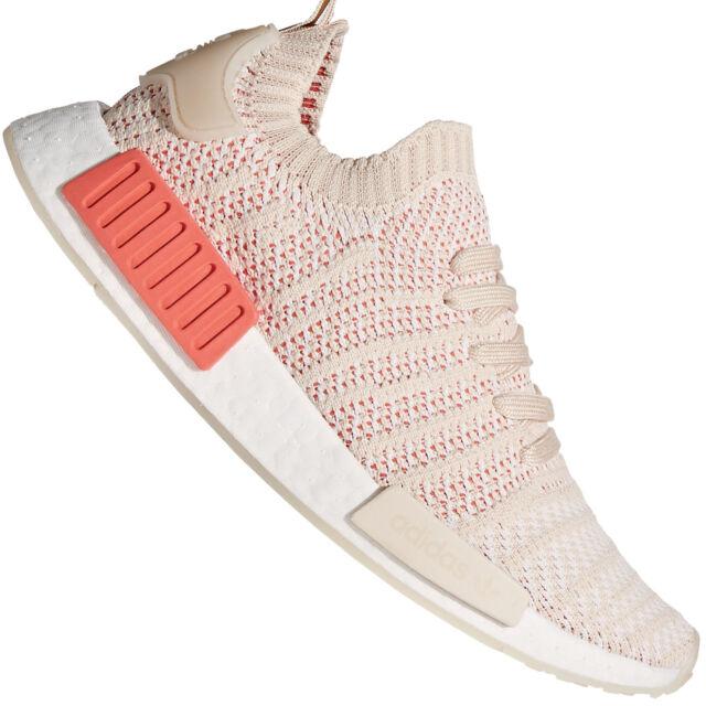best sneakers be054 89409 DONNA ADIDAS NMD R1 Prime Maglia Scarpe sportive LINO CRISTALLO BIANCHE