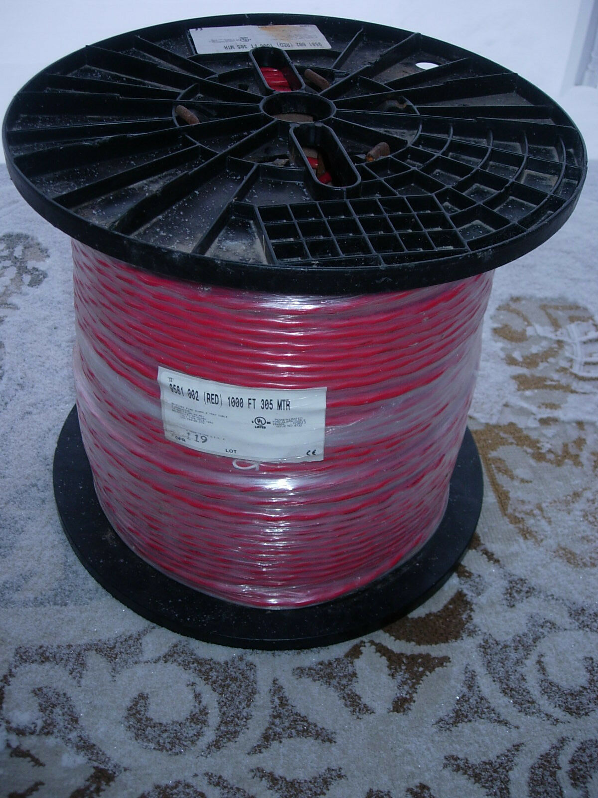 Belden Shielded Fire Alarm Cable 1000 FT 2 Cond. #14 Solid Copper ...