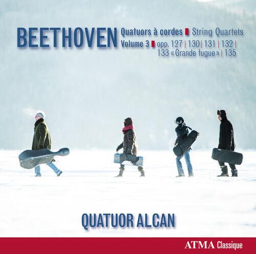 Beethoven / Alcan Quartet - String Quartets 3 [New CD]