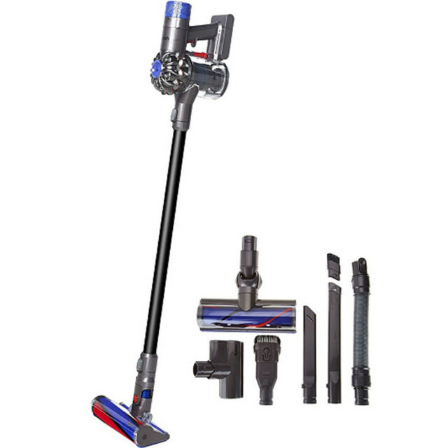 dyson v6 absolute gray red stick cleaner ebay. Black Bedroom Furniture Sets. Home Design Ideas