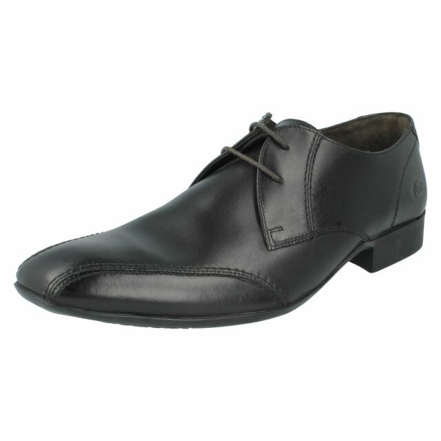 SALE Mens INDENT black leather lace up shoe by Base London Retail Price