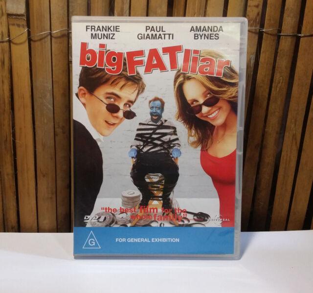 BIG FAT LIAR (DVD) G RATED COMEDY - REGION 4 FRANKIE MUNIZ / AMANDA BYNES