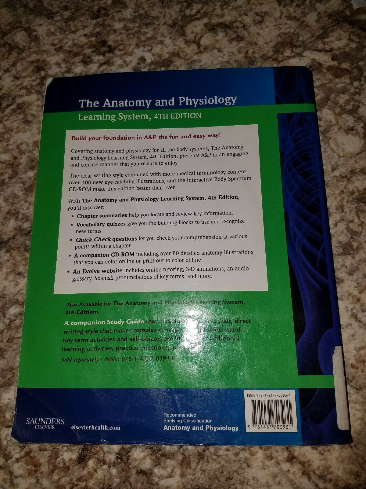 The Anatomy and Physiology Learning System by Edith Ms Applegate ...