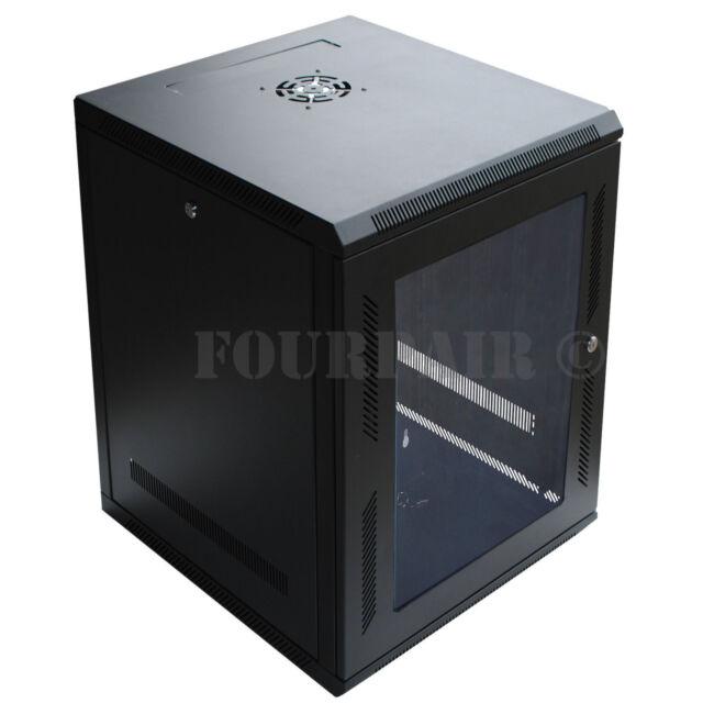 15u Wall Mount It Server Network Cabinet Rack Enclosure