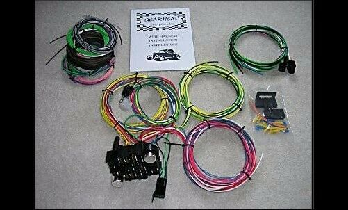 s l640 gearhead 1947 1955 chevy gmc pickup truck wire harness complete complete wire harness kits at readyjetset.co