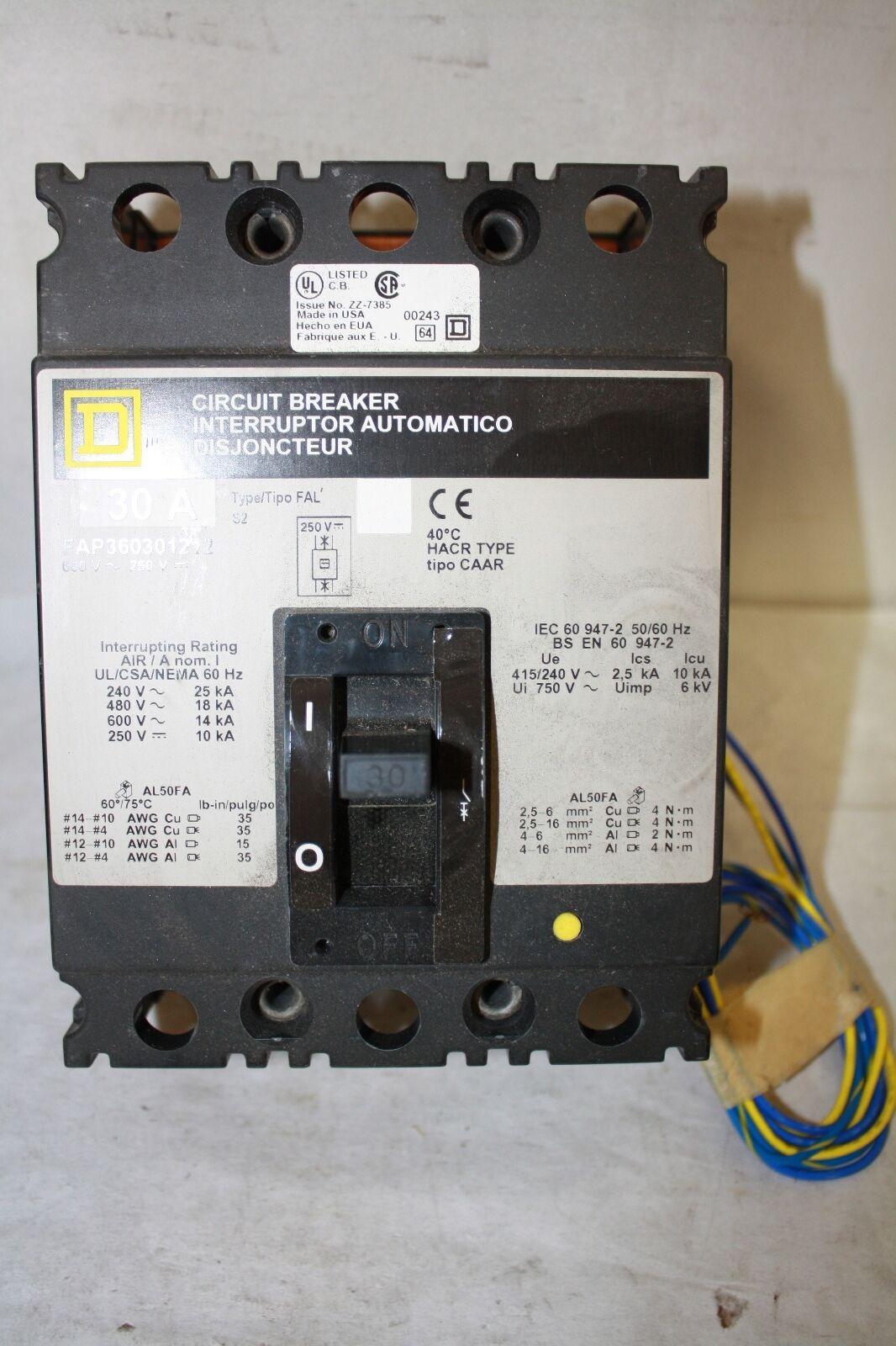 Square D Qo QO220GFCI 2 Pole 20 Amp Circuit Breaker Snap GFCI | eBay