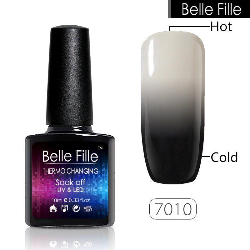Belle Fille Chameleon Temperature Color Change Nail GEL Polish Soak ...