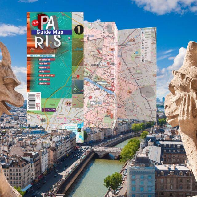 Map laminated paris augmented reality ar landmarks metro rue map laminated paris augmented reality ar landmarks metro rue index gumiabroncs Choice Image