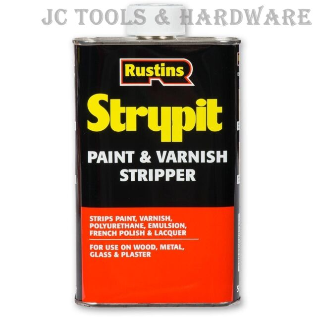 Rustins Strypit Paint & Varnish Remover Stripper 250ml