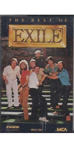 The Best of Exile ~ Rock ~ Pop ~ Cassette ~ Good