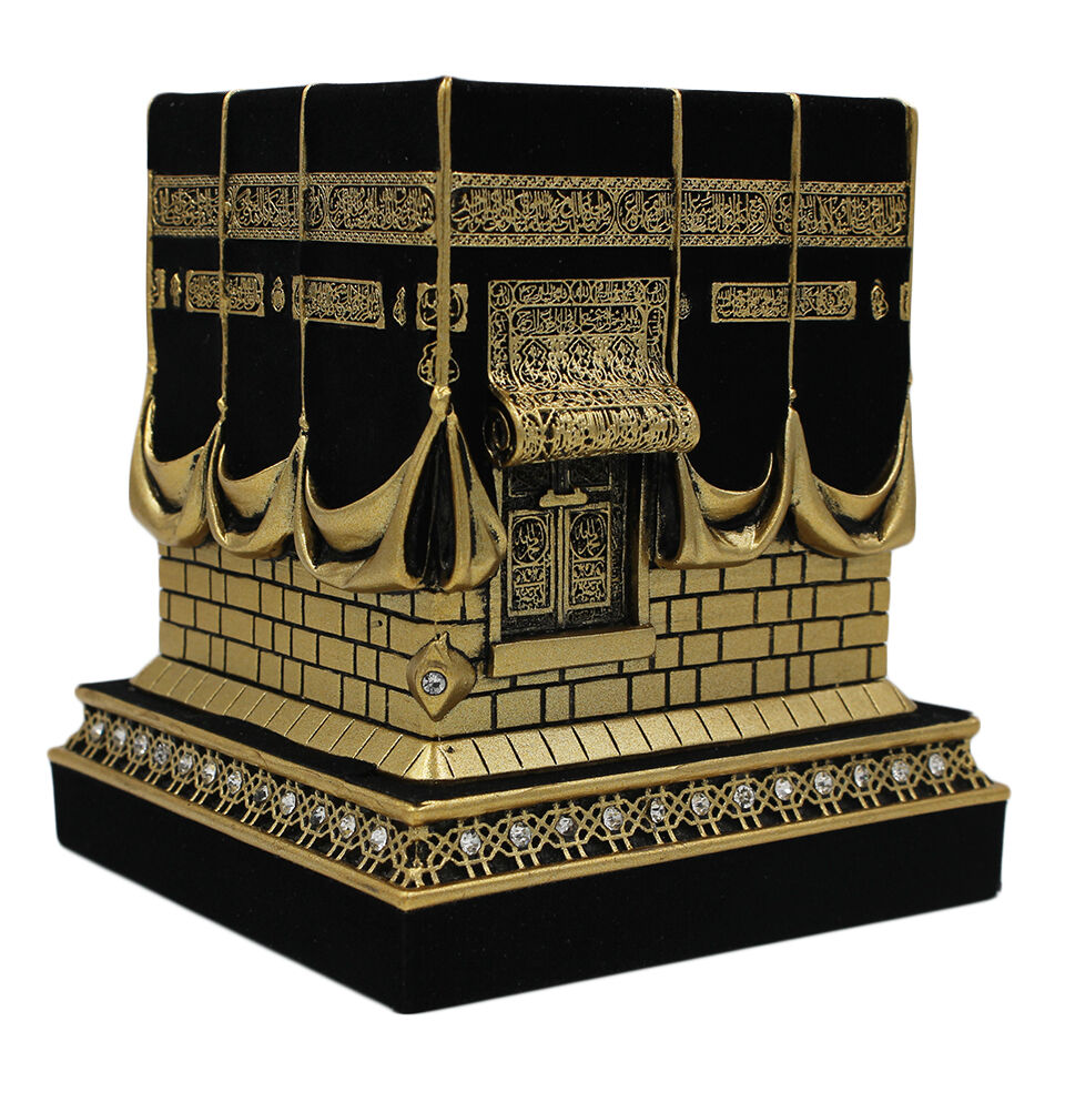 Islamic Table Decor Kaba Replica Muslim Gift Gold U0026 Black