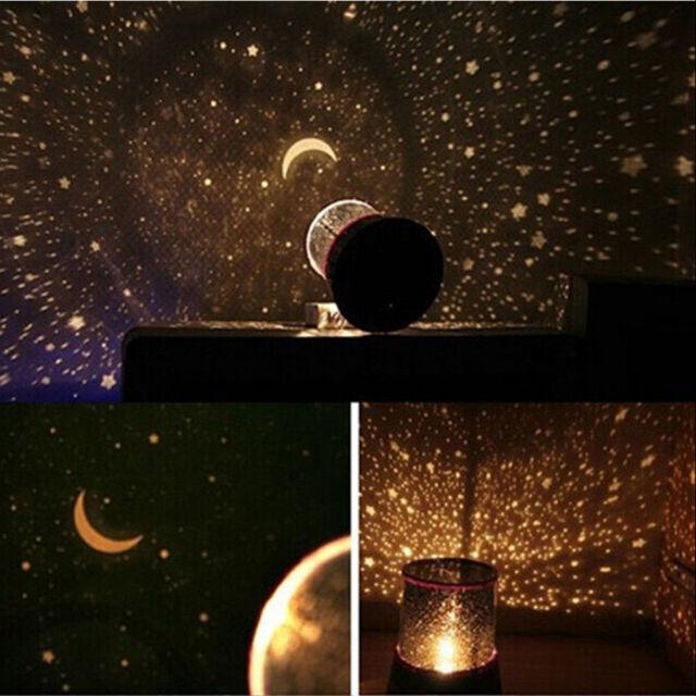 Childrens Star Master Night Light Sky Led Projector Mood Lamp Kids Bedroom Ud
