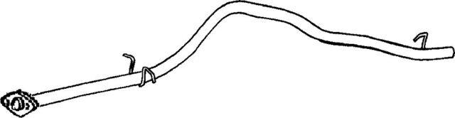1DU32Q EXHAUST PIPE FOR DAIHATSU FOURTRAK 2.8 1985-1998