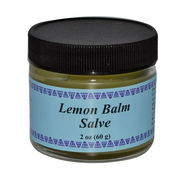 WiseWays Herbals, LLC, Lemon Balm Salve, 2 oz (60 g)