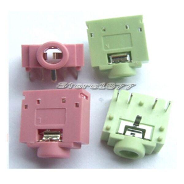 20pcs DIP PCB Mount 5 Pins Female 3.5mm Stereo Audio Jack Socket s649_1