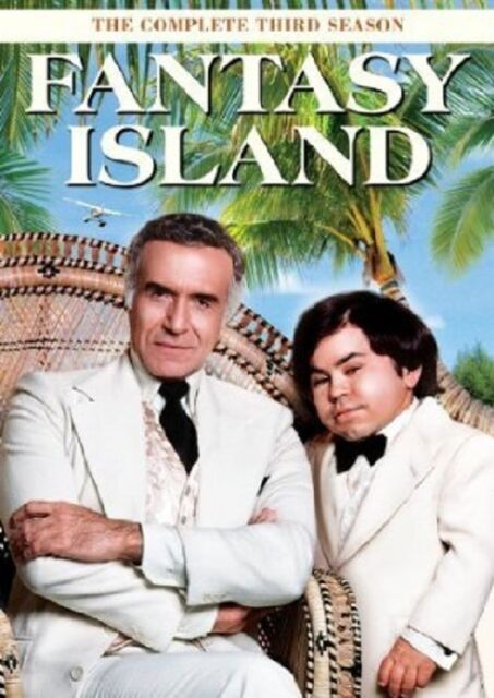 FANTASY ISLAND: SEASON 3 (Ricardo Montalban) - DVD - Region 1 Sealed