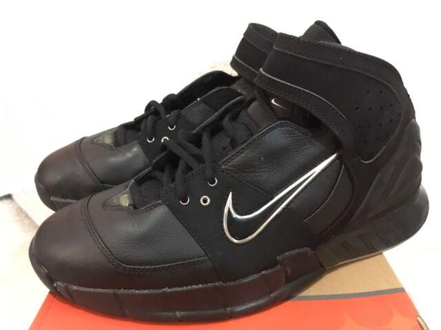 2006 Nike Air Double Figure Black Men Sz 10 311904-001