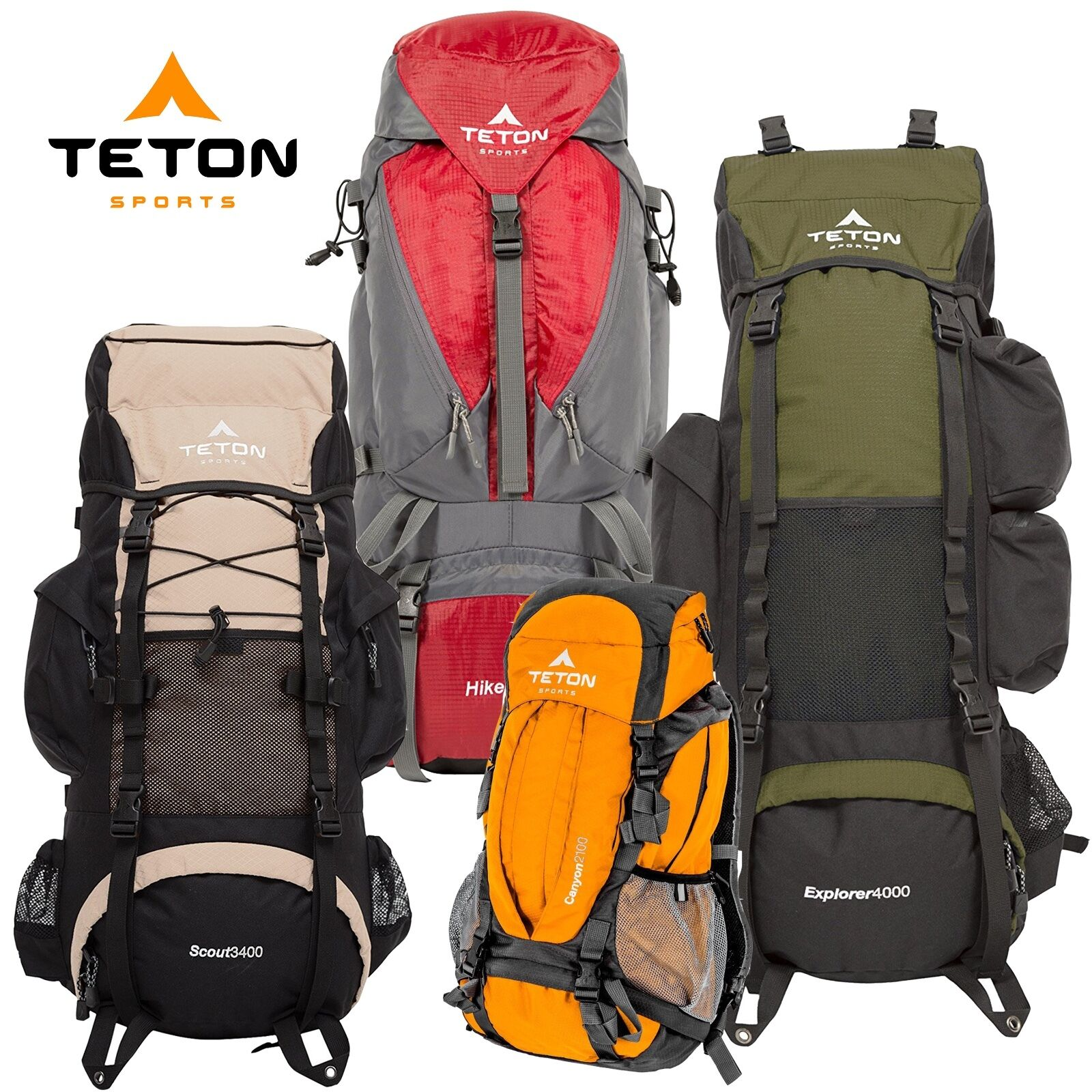 Teton Sports Summit 1500 Ultralight Internal Frame Backpack 54010025 ...