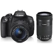 Canon EOS 700D Digital Camera  Black (Kit w/ EF S...