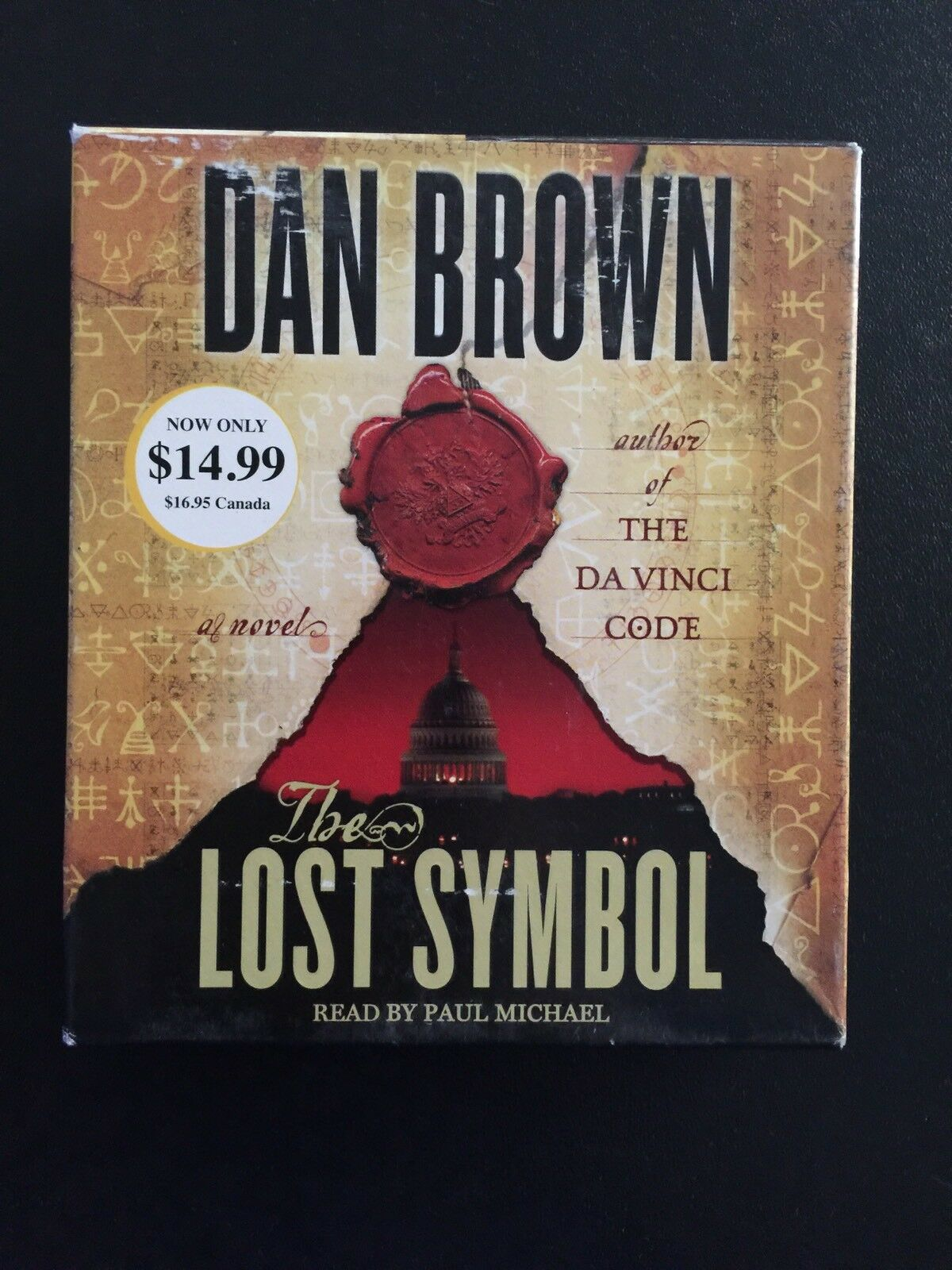 Robert langdon the lost symbol bk 3 by dan brown 2013 cd robert langdon the lost symbol bk 3 by dan brown 2013 cd abridged ebay buycottarizona