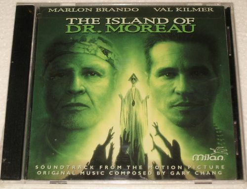 THE ISLAND OF DR MOREAU - CD - SOUNDTRACK - SEALED