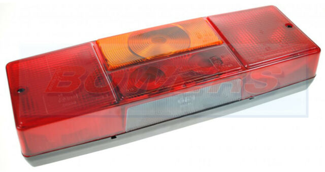SACEX L/H CARAVAN TRAILER REAR 6 FUNCTION COMBINATION LAMP LIGHT 285mm x 97mm