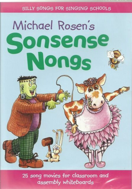 MICHAEL ROSEN'S SONSENSE NONGS DVD-ROM 25 SONG MOVIES FOR CLASSROOM & ASSEMBLY
