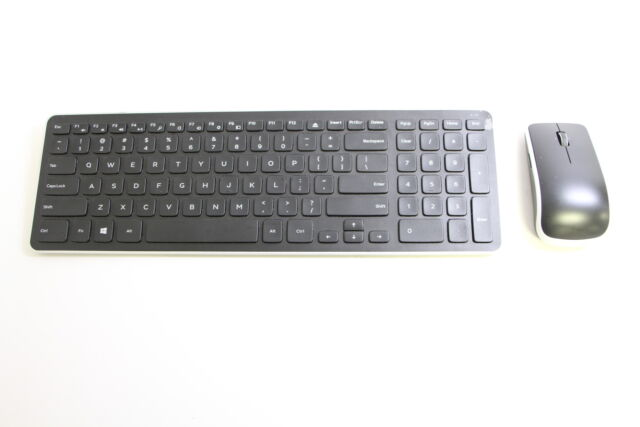 dell km714 wireless keyboard and mouse combo ebay. Black Bedroom Furniture Sets. Home Design Ideas