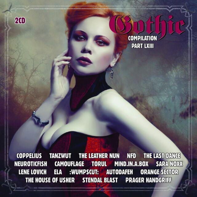 GOTHIC 63 2CD PRAGER HANDGRIFF Camouflage WUMPSCUT Tanzwut TORUL