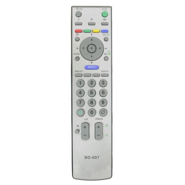 sony tv controller. *new* remote control for sony tv`s kdl26u2000 / kdl-26u2000 tv controller