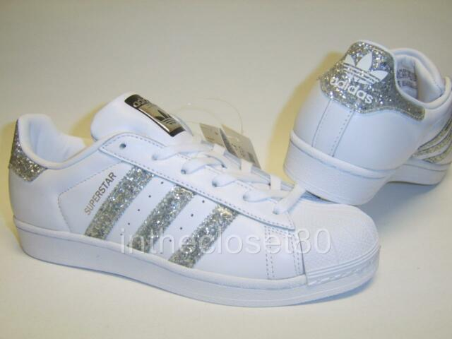 adidas shoes for girls rose gold. adidas superstar white metallic silver glitter black womens trainers s76923 shoes for girls rose gold