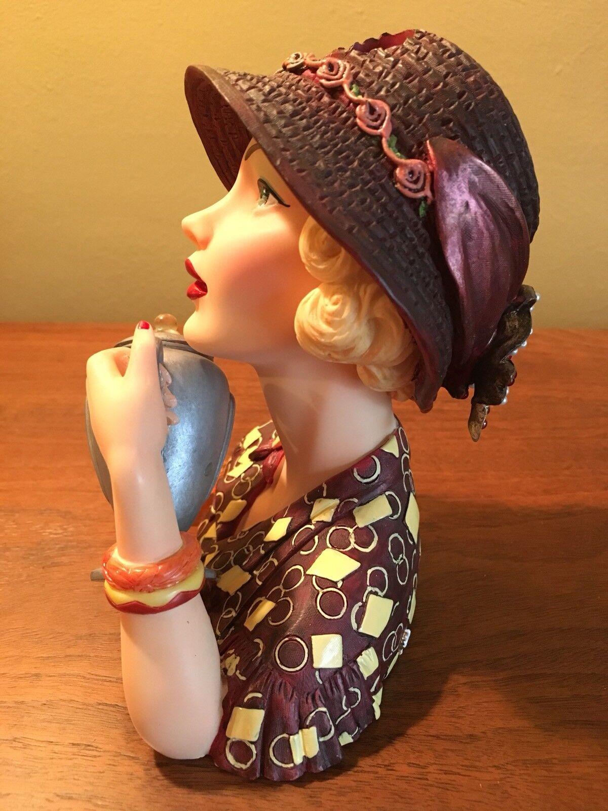 Cameo girls head vase abigail 1936 mib ebay 1 reviewsmspy