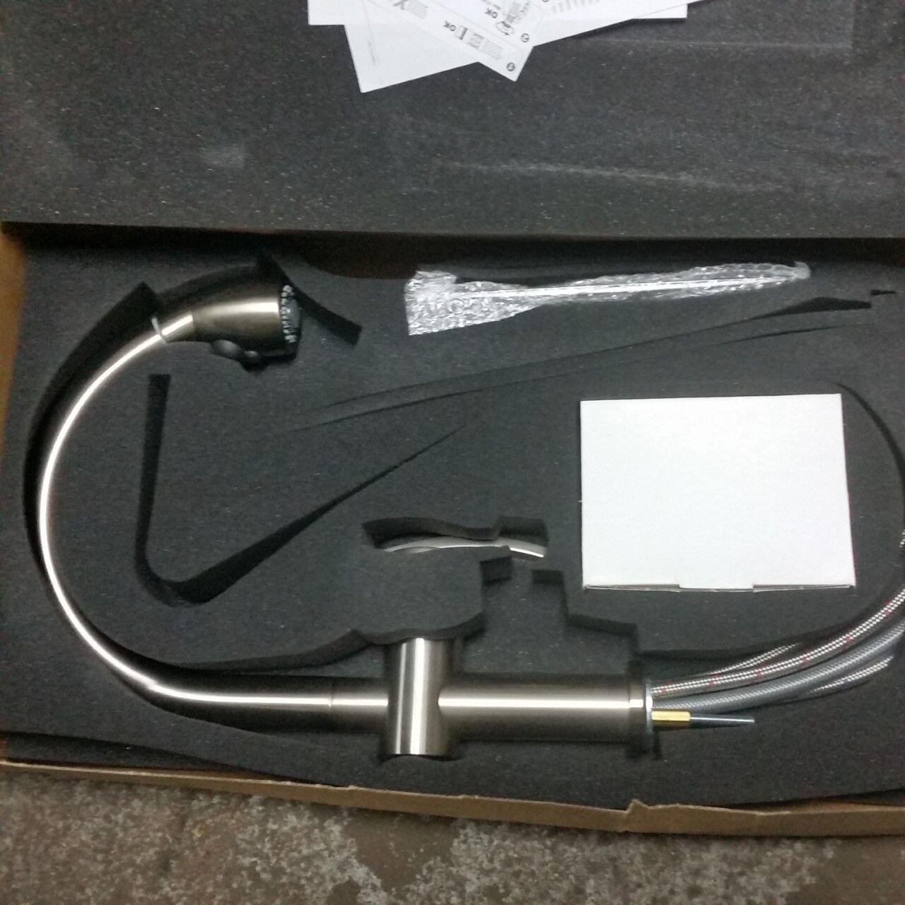 Pegasus AKPW591LFEX Arko Pull out Spray Brushed Nickel   eBay