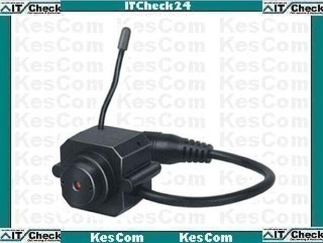 203-Kx Mini Farb Funk Kamera mit Netzteil überträgt Bild und Ton #32323b