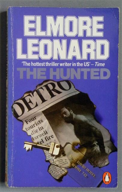 THE HUNTED by Elmore Leonard (Penguin PB 1985)