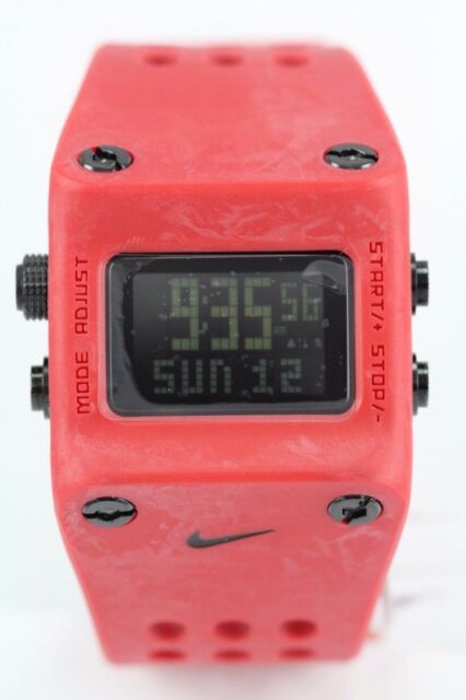Nike Mettle Chisel Sport Red Mens Watch WC0045-605