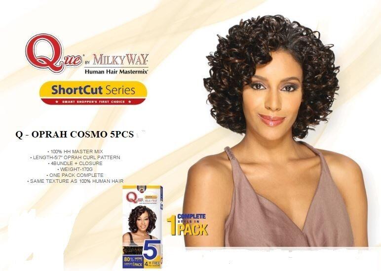 Oprah 5pcs que by milkyway human hair blend mastermix weave picture 1 of 2 pmusecretfo Choice Image