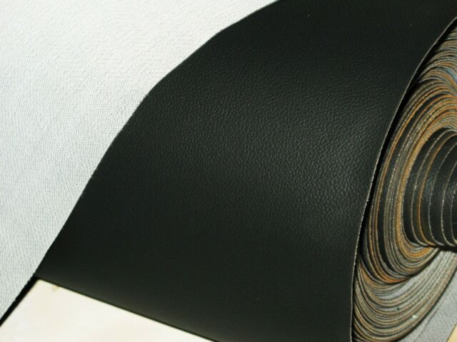 Quality Black Stretch Strong Vinyl Motorcycle Seat Cover Size - Vinyl for motorcycle seat