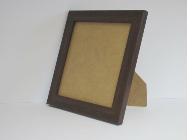 Brown 5x5 Square Photo Picture Frame Standing Ebay